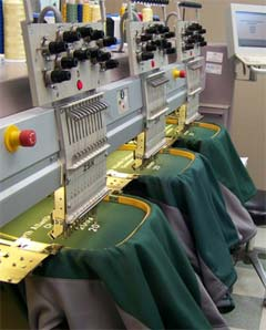 Embroidering Machines